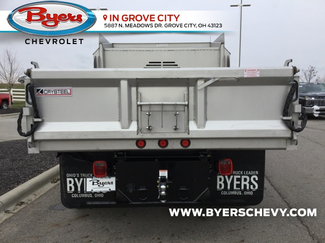 2019 Silverado 5500 Crew Cab DRW 4x4, Crysteel Dump Body #C193203 - photo 1