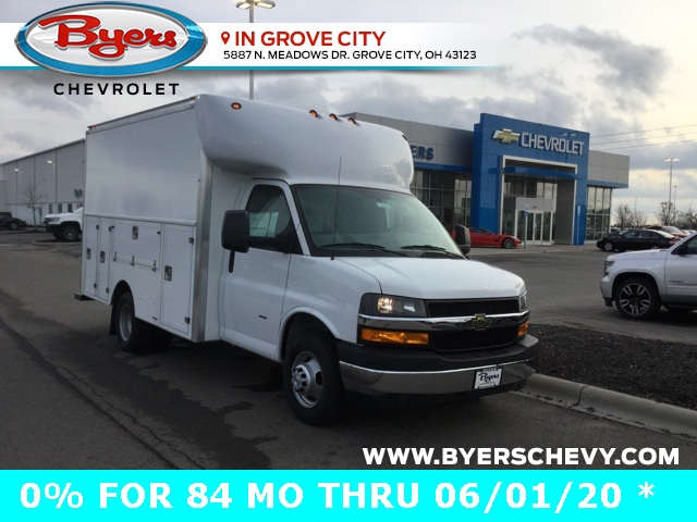 2019 Express 3500 4x2, Supreme Service Utility Van #C193208 - photo 1