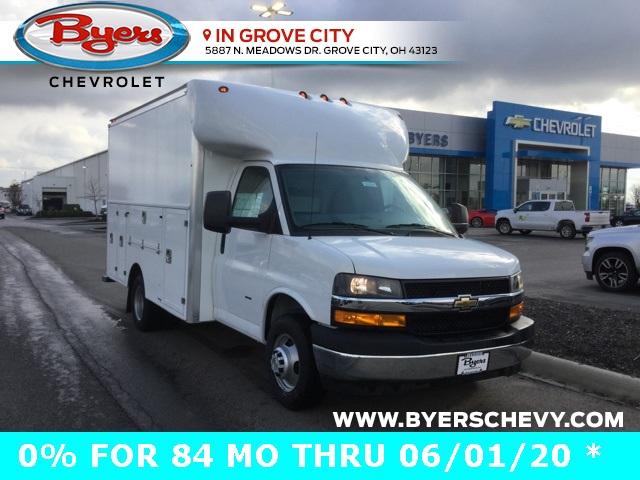 2019 Express 3500 4x2, Supreme Service Utility Van #C193210 - photo 1
