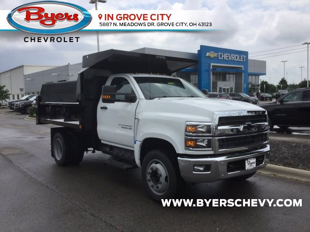 2020 Chevrolet Silverado 4500 Regular Cab DRW 4x2, Crysteel Dump Body #C203039 - photo 1