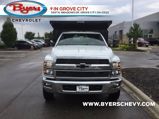 2020 Chevrolet Silverado 4500 Regular Cab DRW 4x2, Crysteel E-Tipper Dump Body #C203039 - photo 4