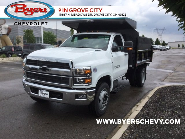 2020 Chevrolet Silverado 4500 Regular Cab DRW 4x2, Crysteel E-Tipper Dump Body #C203039 - photo 5