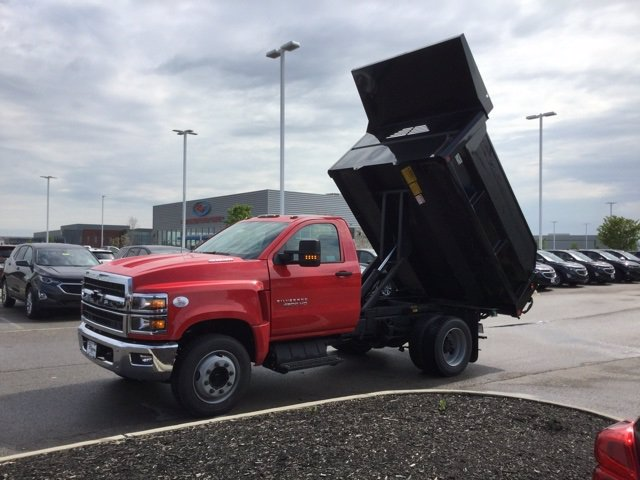 2020 Chevrolet Silverado 4500 Regular Cab DRW 4x2, Crysteel E-Tipper Dump Body #C203043 - photo 9