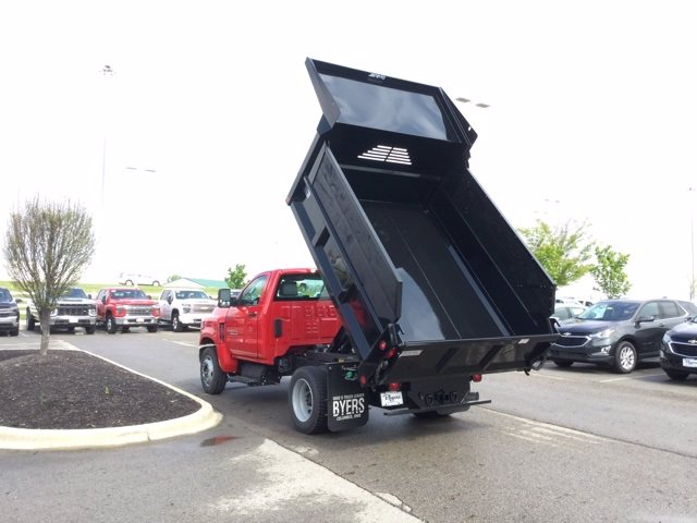 2020 Chevrolet Silverado 4500 Regular Cab DRW 4x2, Crysteel E-Tipper Dump Body #C203043 - photo 10