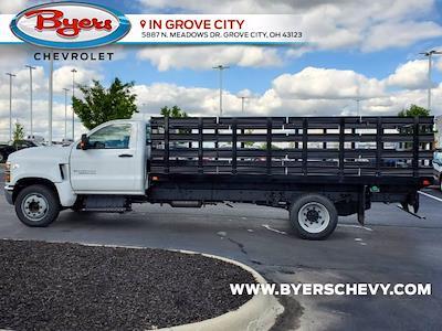 2020 Silverado 4500 Regular Cab DRW 4x2,  Knapheide Heavy-Hauler Junior Stake Bed #C203045 - photo 11