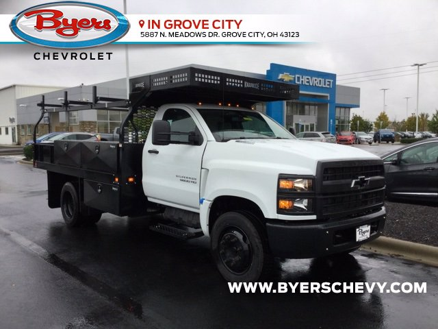 2020 Chevrolet Silverado 5500 Regular Cab DRW 4x2, Knapheide Concrete Body #C203055 - photo 1