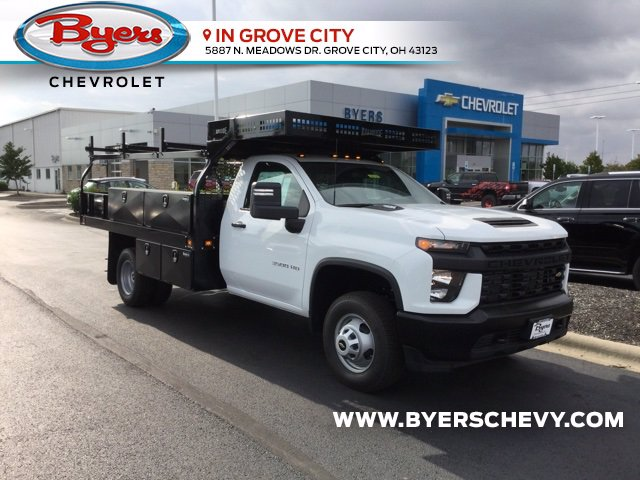 2020 Chevrolet Silverado 3500 Regular Cab DRW 4x4, Knapheide Concrete Body #C203127 - photo 1