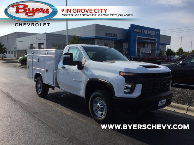 2020 Chevrolet Silverado 2500 Regular Cab 4x4, Duramag S Series Service Body #C203146 - photo 1