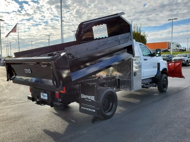2020 Chevrolet Silverado 5500 Regular Cab DRW 4x4, Knapheide Dump Body #C203158 - photo 1