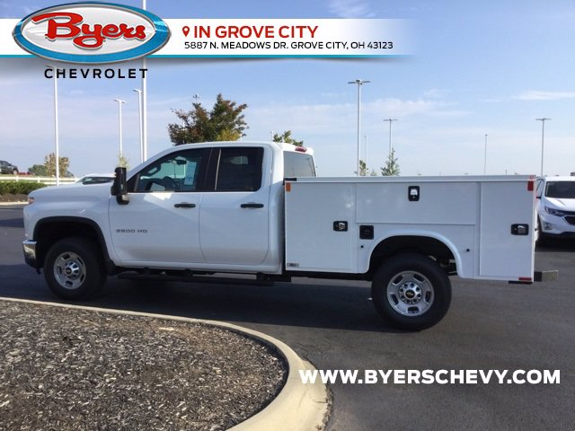 2020 Chevrolet Silverado 2500 Double Cab 4x4, Knapheide Steel Service Body #C203183 - photo 5