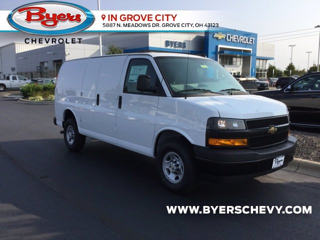 2020 Chevrolet Express 3500 4x2, Empty Cargo Van #C203189 - photo 1