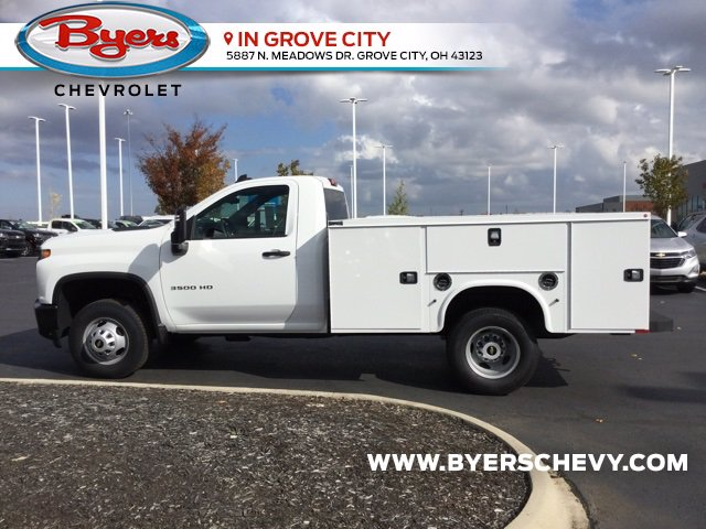 2020 Chevrolet Silverado 3500 Regular Cab DRW 4x2, Knapheide Steel Service Body #C203223 - photo 5