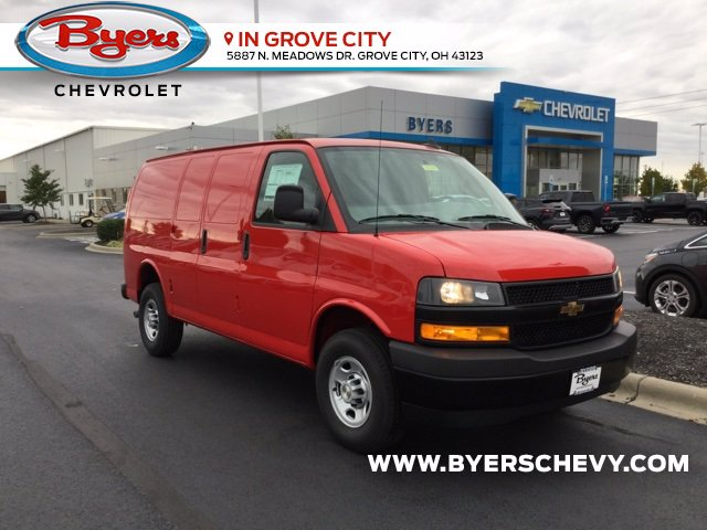 2020 Chevrolet Express 3500 4x2, Empty Cargo Van #C203240 - photo 1
