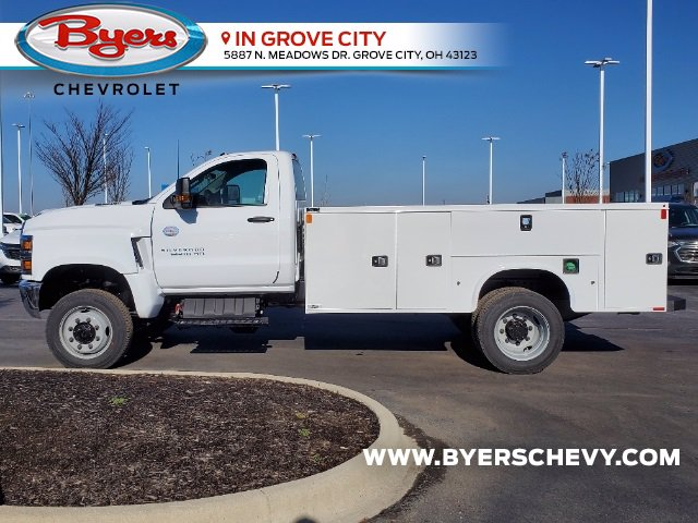 2020 Chevrolet Silverado 5500 Regular Cab DRW 4x4, Knapheide Steel Service Body #C203256 - photo 6