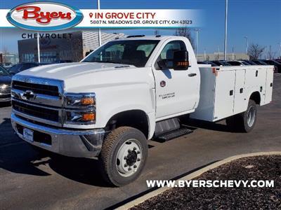 2020 Chevrolet Silverado 5500 Regular Cab DRW 4x4, Knapheide Steel Service Body #C203256 - photo 5