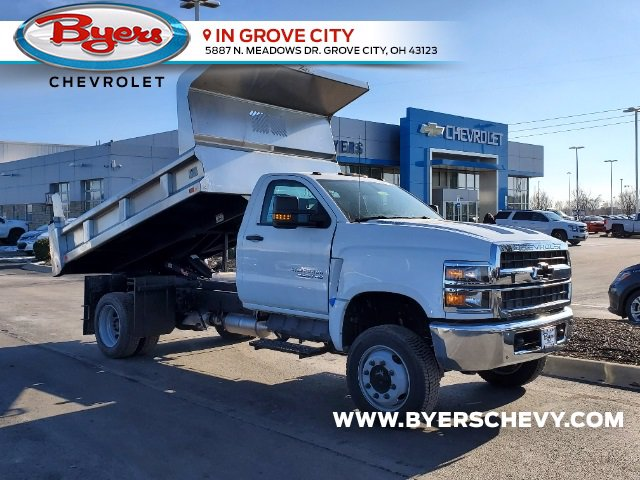 2020 Chevrolet Silverado 5500 Regular Cab DRW 4x4, Rugby Dump Body #C203264 - photo 1