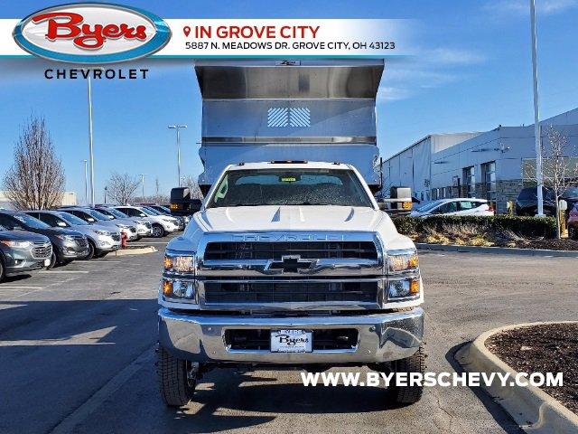 2020 Chevrolet Silverado 5500 Regular Cab DRW 4x4, Rugby Z-Spec Dump Body #C203264 - photo 4