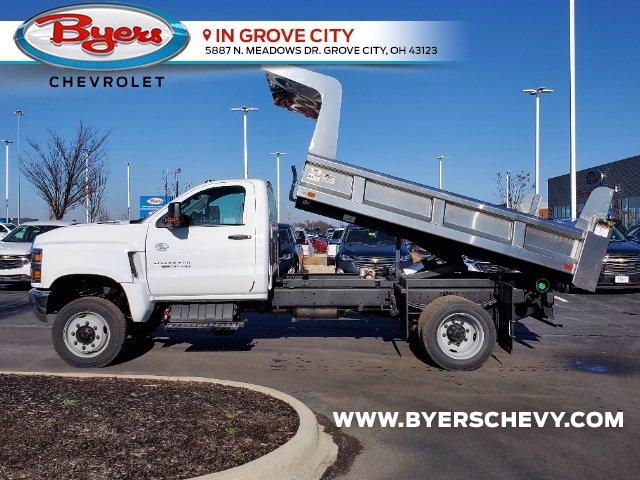 2020 Chevrolet Silverado 5500 Regular Cab DRW 4x4, Rugby Z-Spec Dump Body #C203264 - photo 6