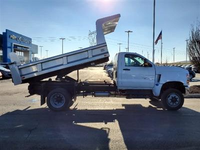 2020 Chevrolet Silverado 5500 Regular Cab DRW 4x4, Rugby Z-Spec Dump Body #C203264 - photo 9