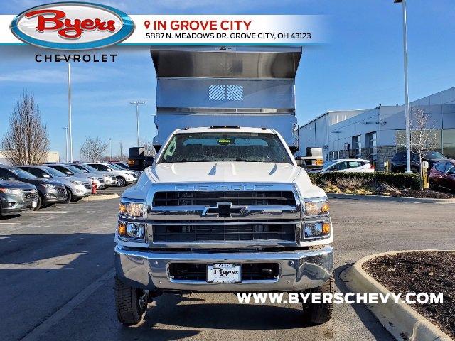 2020 Chevrolet Silverado 5500 Regular Cab DRW 4x4, Rugby Z-Spec Dump Body #C203265 - photo 4