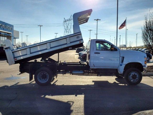 2020 Chevrolet Silverado 5500 Regular Cab DRW 4x4, Rugby Z-Spec Dump Body #C203265 - photo 9