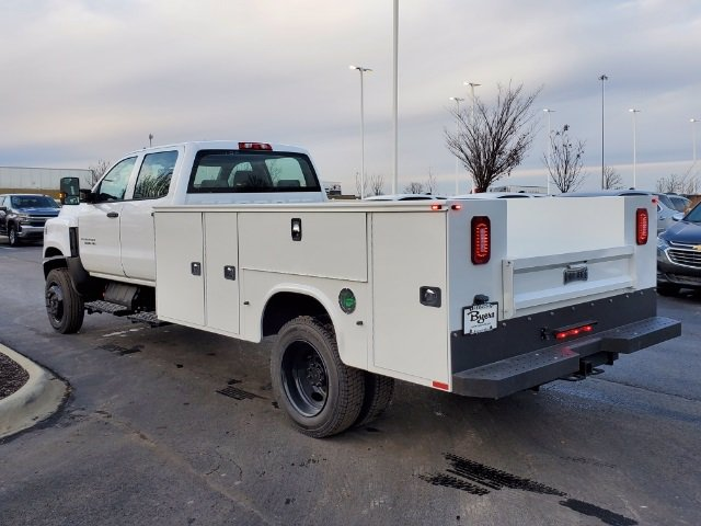 2020 Chevrolet Silverado 5500 Crew Cab DRW 4x4, Knapheide Steel Service Body #C203272 - photo 7