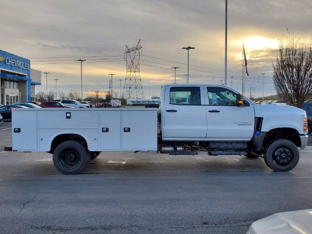 2020 Chevrolet Silverado 5500 Crew Cab DRW 4x4, Knapheide Steel Service Body #C203272 - photo 9