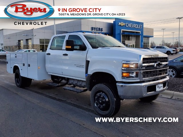 2020 Chevrolet Silverado 5500 Crew Cab DRW 4x4, Knapheide Steel Service Body #C203272 - photo 1