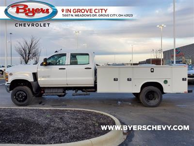2020 Chevrolet Silverado 5500 Crew Cab DRW 4x4, Knapheide Steel Service Body #C203272 - photo 6