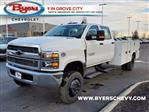 2020 Chevrolet Silverado 5500 Crew Cab DRW 4x4, Knapheide Steel Service Body #C203272 - photo 5