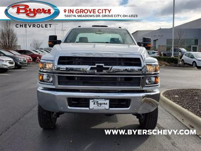 2020 Chevrolet Silverado 5500 Regular Cab DRW 4x4, Knapheide Steel Service Body #C203278 - photo 4