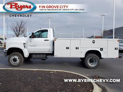 2020 Chevrolet Silverado 5500 Regular Cab DRW 4x4, Knapheide Steel Service Body #C203278 - photo 6