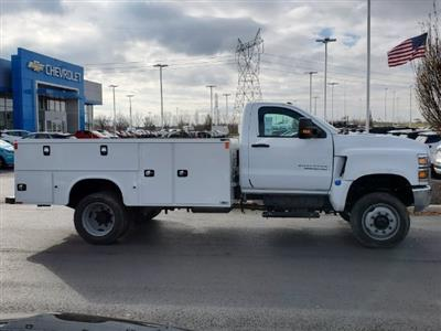 2020 Chevrolet Silverado 5500 Regular Cab DRW 4x4, Knapheide Steel Service Body #C203278 - photo 9