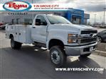 2020 Chevrolet Silverado 5500 Regular Cab DRW 4x4, Knapheide Steel Service Body #C203278 - photo 1