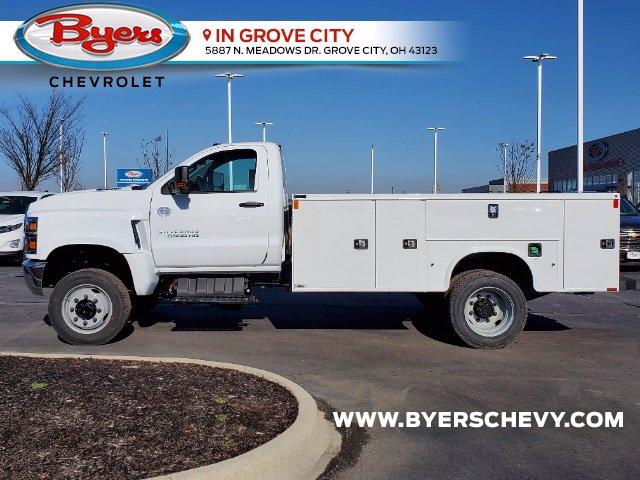 2020 Silverado 5500 Regular Cab DRW 4x4,  Knapheide Steel Service Body #C203284 - photo 6