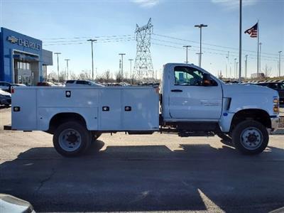 2020 Silverado 5500 Regular Cab DRW 4x4,  Knapheide Steel Service Body #C203284 - photo 9