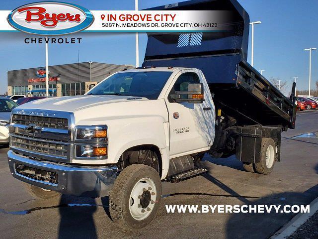 2020 Chevrolet Silverado 5500 Regular Cab DRW 4x4, Rugby Z-Spec Dump Body #C203293 - photo 5