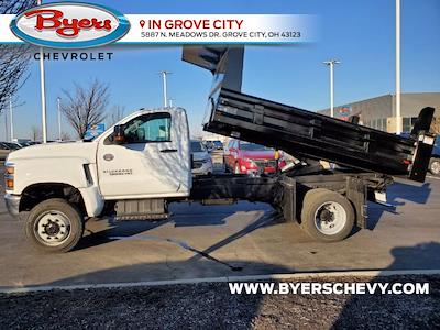 2020 Chevrolet Silverado 5500 Regular Cab DRW 4x4, Rugby Z-Spec Dump Body #C203293 - photo 6