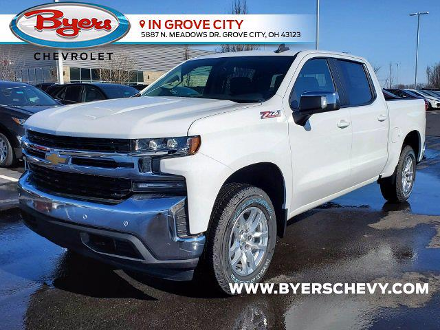 2021 Chevrolet Silverado 1500 Crew Cab 4x4, Pickup #C210327 - photo 4