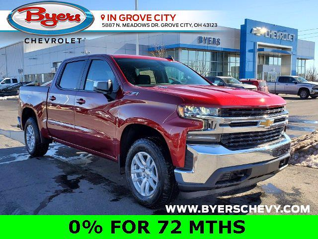 2021 Chevrolet Silverado 1500 Crew Cab 4x4, Pickup #C210353 - photo 1