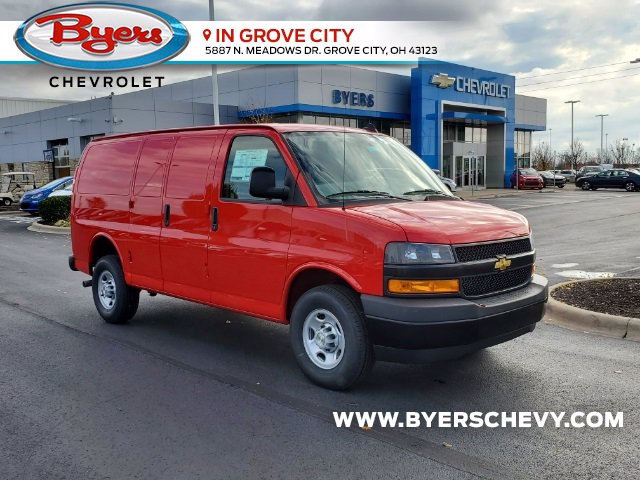 2021 Chevrolet Express 2500 4x2, Empty Cargo Van #C213005 - photo 1