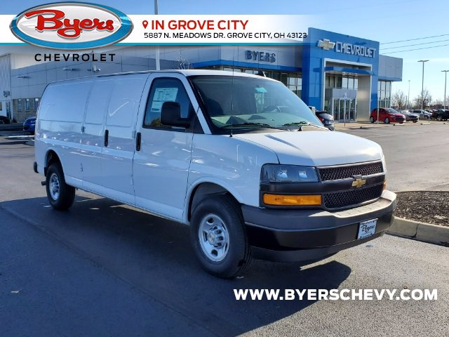 2021 Chevrolet Express 3500 4x2, Empty Cargo Van #C213036 - photo 1