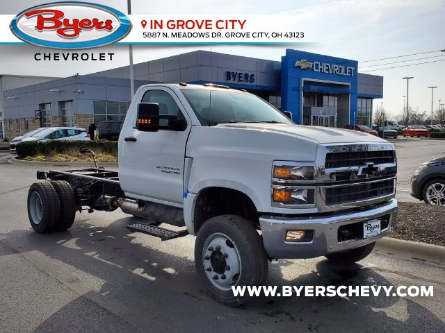2021 Chevrolet Silverado 6500 Regular Cab DRW 4x4, Cab Chassis #C213067 - photo 1