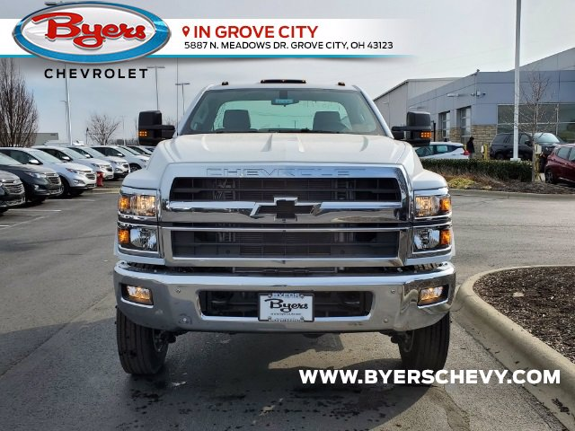 2021 Chevrolet Silverado 6500 Regular Cab DRW 4x4, Cab Chassis #C213067 - photo 4