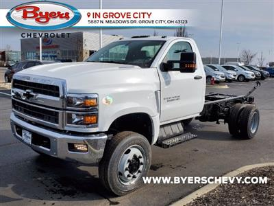 2021 Chevrolet Silverado 6500 Regular Cab DRW 4x4, Cab Chassis #C213067 - photo 5