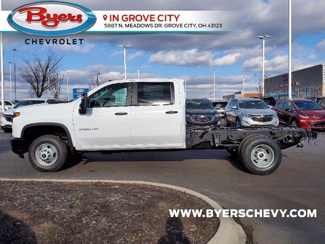 2021 Chevrolet Silverado 3500 Crew Cab AWD, Cab Chassis #C213073 - photo 6