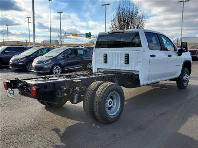 2021 Chevrolet Silverado 3500 Crew Cab AWD, Cab Chassis #C213073 - photo 2