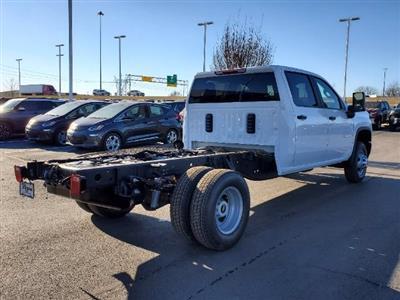 2021 Chevrolet Silverado 3500 Crew Cab AWD, Cab Chassis #C213078 - photo 2