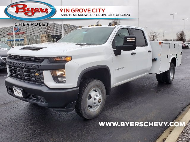 2021 Chevrolet Silverado 3500 Crew Cab AWD, Knapheide Steel Service Body #C213079 - photo 5