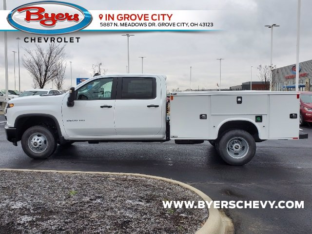 2021 Chevrolet Silverado 3500 Crew Cab AWD, Knapheide Steel Service Body #C213079 - photo 6
